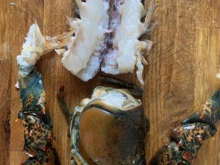 年夜饭—蒜蓉蒸龙虾,处理