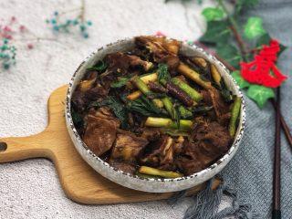 大蒜炒羊肉,大蒜炒羊肉是最好的搭配,味道好极了!