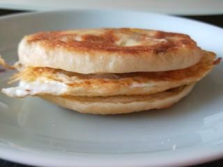 葱油蛋夹馍  新文美食,成品图