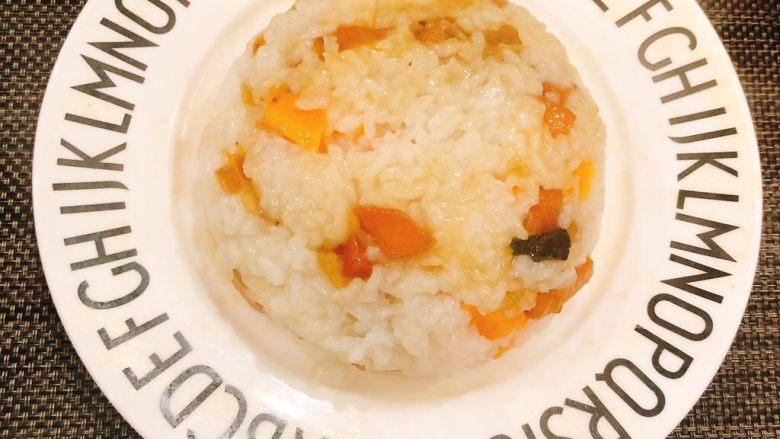 虾米时蔬红薯烩饭