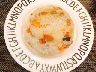 虾米时蔬红薯烩饭,完成啦!