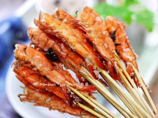 五香盐焗虾,成品图