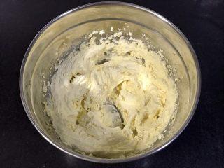 玛格丽特饼干,用电动打蛋器打匀就行。