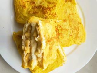 简单好吃又减肥的早餐||宝宝的最爱-----香蕉牛奶煎土司,软糯香甜的香蕉牛奶煎土司就做好了