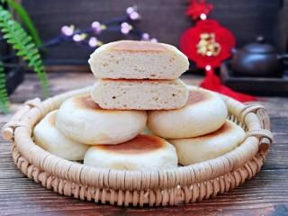 香甜松软的喜饼,切开啦!从此爱上这个味儿。