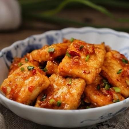 剁椒酱烧豆腐