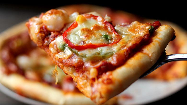 货真料足媲美必胜客的【海陆至尊披萨】