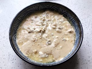 肉糜豆腐炖鸡蛋,时间到,取出