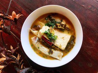 酸菜鱼#年年有鱼#,成品。