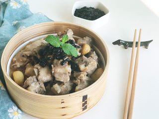 茶食之豆豉蒸排骨,家庭版的豆豉蒸排骨
