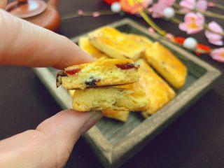 蔓越莓奶酥,一口酥松,超美味。