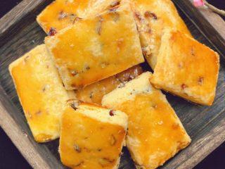 蔓越莓奶酥,出炉待凉即可食用