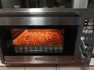 原味雪花酥,放入花生烤25分钟。我的花生个头偏大,普通花生烤20分钟即可