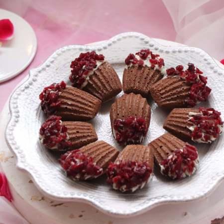 唯美食与爱不可辜负,情人节,亲手做巧克力玛德琳,一起分享甜蜜浪漫