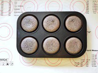 黑米杯子蛋糕,成品图