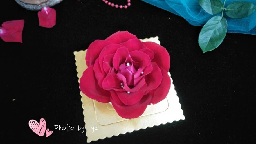 鲜花芝士蛋糕