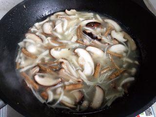 菌菇豆腐羹,我加了这么多
