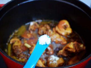 红烧鸭子,再根据个人口味加入盐调味