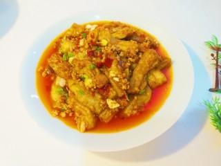 鱼香茄子  新文美食,成品图