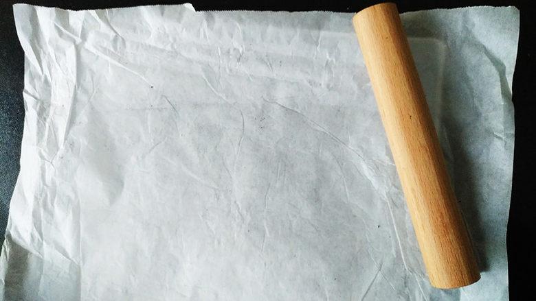 核桃芝麻糖,表面盖油纸