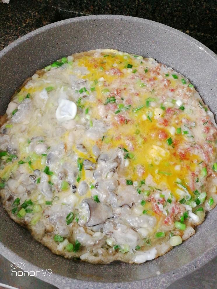 肉虾&蚝烙煎