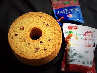 红糖蔓越梅蛋糕