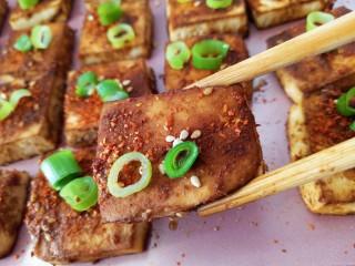 家常烤豆腐,成品
