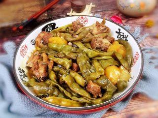 #猪年#排骨土豆炖豆角,配碗米饭,开吃吧!