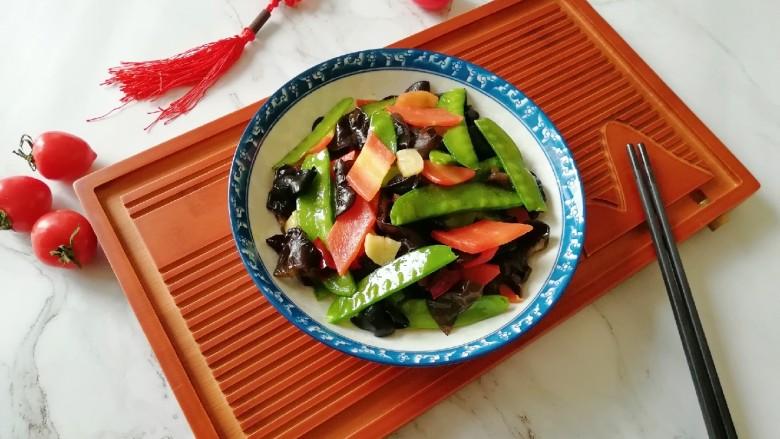 荷兰豆小炒,清淡可口的蔬菜小炒。