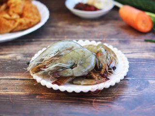 虾仁笃面筋(天津菜),虾仁笃面筋最好选用鲜虾。