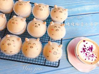 猪猪椰蓉小面包