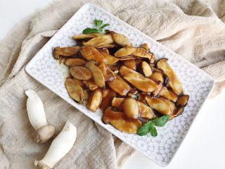 快手家常之蚝油杏鲍菇,经过改花刀的杏鲍菇吃起来有点像鲍鱼的感觉哈哈哈