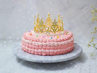 皇冠彩虹蛋糕