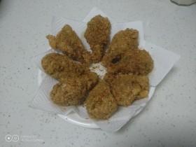 炸燕麦鸡翅根