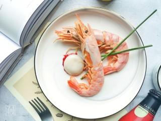 梅子酱红虾渍汤圆