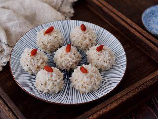 香菇猪肉糯米丸子