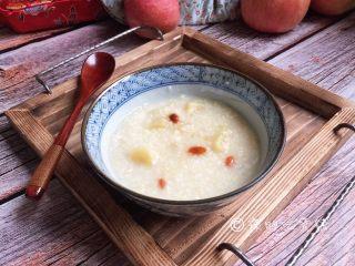 小米燕麦苹果粥