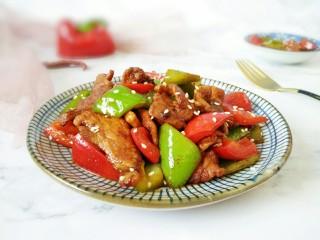 #猪年#辣椒炒肉,敏茹意作~辣椒炒肉