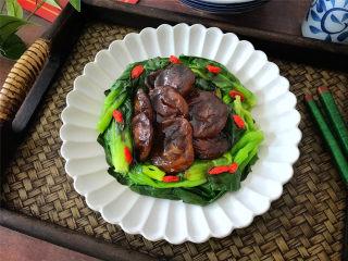 香菇扒青菜