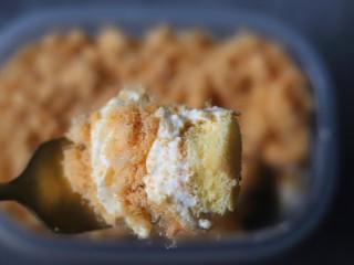 咸蛋黄肉松盒子蛋糕,来一口吧