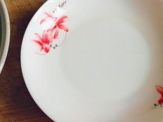 翡翠凉皮(不用洗面的凉皮),盘子里涂一层油