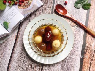 桂圆鹌鹑蛋红枣糖水