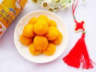口感超赞的黄金红薯球,一家老小都喜欢吃。