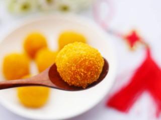 口感超赞的黄金红薯球,来一个。