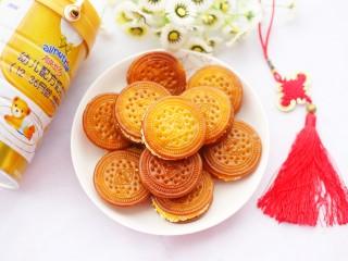 软糯香甜的红薯夹心饼