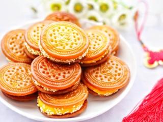 软糯香甜的红薯夹心饼,棒棒哒。