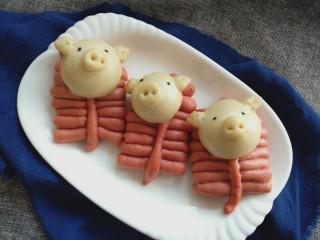 花样面食-鞭炮猪