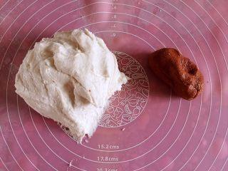 雨花石汤圆,揉成团,盖保鲜膜静置5分钟
