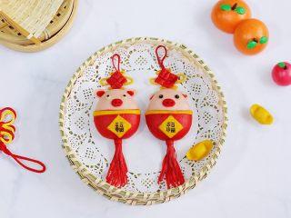 小福猪中国结馒头
