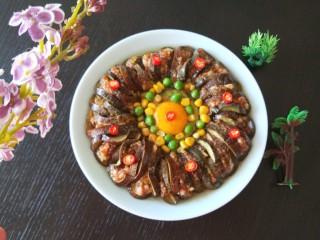 肉末蒸茄子 新文美食,成品图